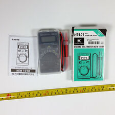 Kyoritsu Digital Multimeters 1018H Hard case type AC/DC 600V Japan Brand