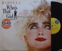 MADONNA WHO'S THAT GIRL ~ Original Soundtrack ~ VINYL LP