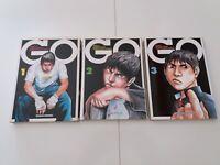 Manga  GO Serie 1/3  ed. Hazard  Come Nuovi !