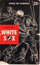1967 (May 31) Baseball program Baltimore Orioles @ Chicago White Sox,scored~Fair
