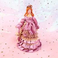 1:12 Dollhouse miniature porcelain dolls dollhouse elegant lady madam model PDH