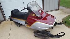 1984 Yamaha Excel III 340 Vintage Snowmobile NO RESERVE