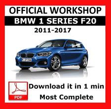 >> OFFICIAL WORKSHOP Manual Service Repair BMW Series 1 F20 2011 - 2017