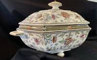 Antique Minton Footed Soup Tureen Dated 1863-1872 Very Rare Stunning Piece.