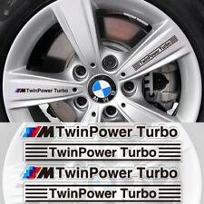 4PCS M Power Car Wheel Sticker Emblem Decal For BMW M3 M5 E36 E39 E46 E90 X5