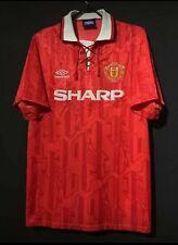 ERIC CANTONA 7 Football Shirt 92/93 MAN UTD Retro Jersey Manchester shirt Medium