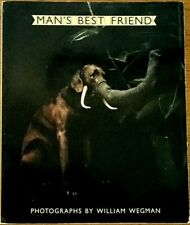 """1982 SIGNED WILLIAM WEGMAN """"Man's Best Friend"""" ONE-OF-A-KIND COLOR POLAROID VG+"""