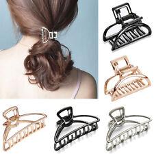 New Women Hair Claw Modern Stylish Bun Maker Metal Hair Clips Accessories