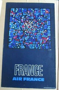 Affiche Air France Raymond Pages - France - 100 x 60 cm