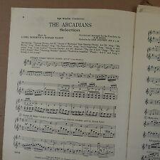 ORCHESTRA pièces le Arcadians sélection Lionel Monckton