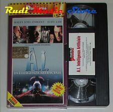 film VHS A.I. INTELLIGENZA ARTIFICIALE Spielberg  CARTONATA PANORAMA (FP1)no*dvd