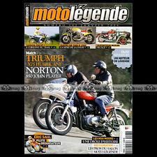 MOTO LEGENDE N°197-b TRIPORTEUR MORINI 125 YAMAHA 250 DT1 NORTON 850 JOHN PLAYER