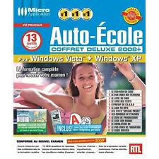 AUTO ECOLE COFFRET DELUXE 2008+ +  + LIVRE CODE NEUF SOUS BLISTER