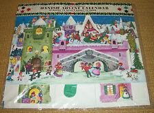 NIP VINTAGE Advent Calendar | *NEW* GEMO Christmas Countdown Movable Denmark