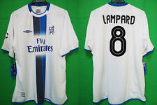 2003-2004 Chelsea FC Jersey Shirt Away Fly Emirates UEFA CL Lampard #8 XL BNWT
