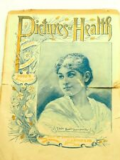 Pictures of Health Or People who Take HOOD'S Sarsaparilla 6 page Pamphlet 1895