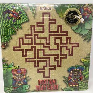 Artifacts Puzzle Series Mayan Mayhem NIP Sealed Vintage 1994 DeMert Company
