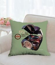 "Spin Alley ""The Icons"" Zenith Cobra-Matic H664 18"" x 18"" Throw Pillow"