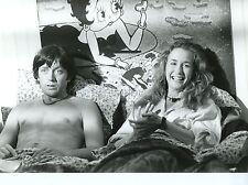 BERNARD GIRAUDEAU BRIGITTE FOSSEY  CROQUE LA VIE  1981 VINTAGE PHOTO ORIGINAL