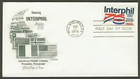 #1632 13c Interphil 76, Artmaster-Addressed FDC **ANY 4=FREE SHIPPING**