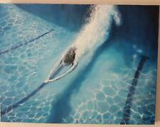 Pretty Oil Painting Original And Signed By M J Wilford Diving -  61 cm x 45,7 cm