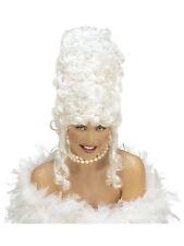 Perücke Marie Antoinette weiß Barock Karneval Fasching