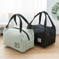 Adult Kids Portable Lunch Bag Insulated Thermal Cooler Box Carry Travel School T