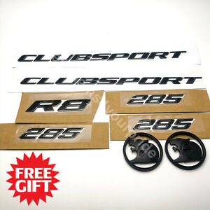 VY HSV Clubsport Badge Emblem Set with 64mm Bonnent Boot Badges + FREE GIFT