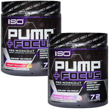 Isolator Fitness ISO Pump and Focus Pre-Workout Supplement - 72 Servings