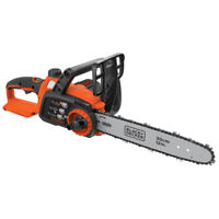 Black & Decker 40V MAX 12 in. Li-Ion Chainsaw (Tool Only) LCS1240B New
