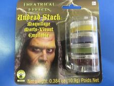 Undead Stack Makeup Zombie Ghost Ghoul Face Paint Halloween Costume Accessory