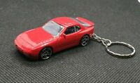 Hotwheels porsche 944 turbo keyring diecast car