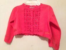 NWT INFANT GIRLS CATIMINI DESIGNER SWEATER/CARDIGAN SIZE 3 MONTHS~$86 Retail