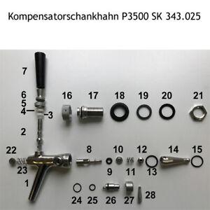 Ersatzteile für Kompensatorschankhahn SK 343.025 Modell P3500