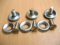 Vespa Piaggio   VNB VBB GS 125 150 160 Headlight Rim Screw & Cup Set