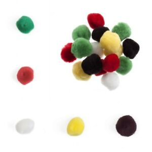Loose Pom Poms, great quality - 5 Colours - 2 sizes - Free Postage