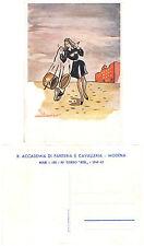 C3301) WW2 R. ACCADEMIA CAVALLERIA E FANTERIA DI MODENA, CORSO REX 1940/42.