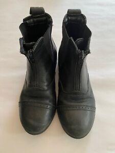 Dublin Girls riding boots - black size AUS 2 USA 3