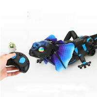 Infrare Induction Remote Control Simulation Lizard Crawl Electronic Funny Toy
