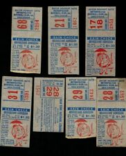 1964 New York Mets (7) Seven Ticket Stubs to Shea Stadium (First Year!)