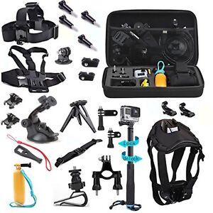 Camera Set Pet Kit for Gopro Hero Xiaomi Yi 4K plus Campark Akaso Eken h9r Gitup