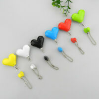 1Pc mini cute heart-shaped 3.5mm double jack adapter to earphone connector ABDA