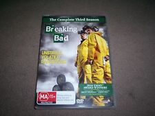 BREAKING BAD COMPLETE THIRD SEASON DVD SET LIKE NEW WATCHED ONCE