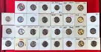 Lot of 30 1964 Jefferson Nickels 5 Cent Proof Coins! 166