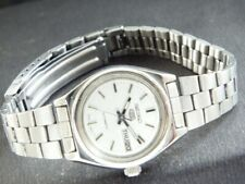 OLD VINTAGE SEIKO 5 AUTOMATIC JAPAN WOMEN'S DAY/DATE WATCH 432p-a218852-4