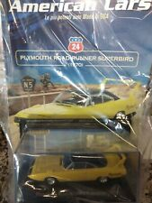 PLYMOUTH ROAD RUNNER SUPERBIRD 1970 AMERICAN CARS C. #24 MIB 1:43