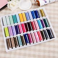 1Set 39Spools Mixed Colors Overlocking Polyester Sewing Maching Thread Useful FI