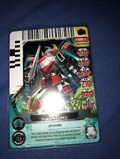 Power Rangers Dino Megazord Card