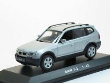 Scale model car 1:43, BMW X3, Silver