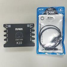 Original XOX K10 Chinese Version USB Sound Card + XOX MA2 Live Stream Cable